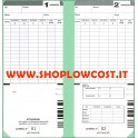 Cartellino Bifacciale CALCOLO 35ex - CALCOLO 50ex