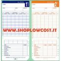 Cartellino Bifacciale RC 2100 100pz