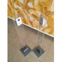 Colonne in plexiglass per Contapersone elettronico automatico