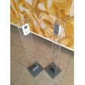 Colonnine in plexiglass per Contapersone elettronico automatico