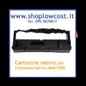 Cartuccia nastro  per timbracartellino MAX 1100, MAX 1500
