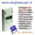 Contapersone Elettronico SMARTCHECK Standalone KIT CMB Bidirezionale con SD