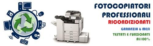 Fotocopiatori professionali Rigenerati