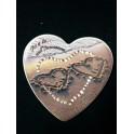 Bomboniera cuore Personalizzata in Porcellana