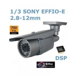 Telecamera CCD 700 TVL 1/3 Sony efio new