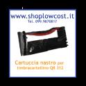 Cartuccia nastro per timbracartellino QR.312
