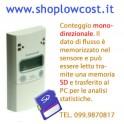 Contapersone Elettronico SMARTCHECK Standalone KIT CMB Monodirezionale con SD
